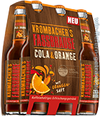 Krombacher Fassbrause Cola & Orange 6er-Pack